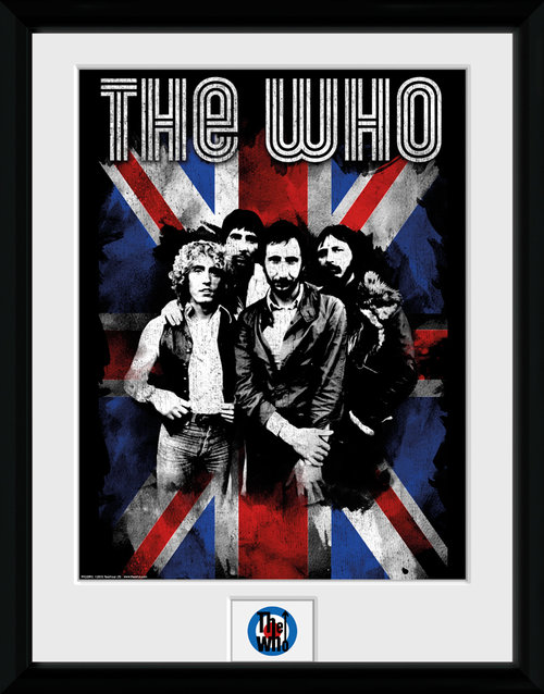 The Who Union Jack Framed Collector Print