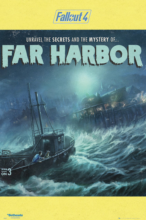 Fallout 4 Far Harbour Maxi Poster