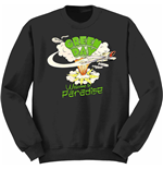 Green Day Sweatshirt - Welcome To Paradise