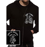Sons of Anarchy Full zip Hoodie - Samcro