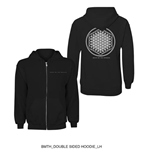 Bring Me The Horizon Zipped Hoodie - Flower Of Life
