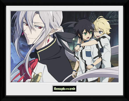 Seraph Of The End Trio Framed Collector Print