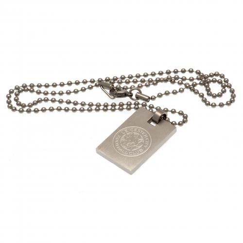 Leicester City F.C. Dog Tag & Chain
