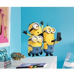 Minions Wall Stickers Selfie&Run