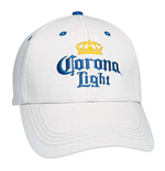 Corona Light White Hat