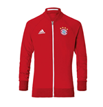 2016-2017 Bayern Munich Adidas Anthem Jacket (Red)
