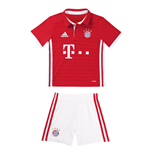 2016-2017 Bayern Munich Adidas Home Little Boys Mini Kit