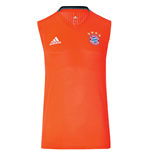 2016-2017 Bayern Munich Adidas Sleeveless Shirt (Solar Red)