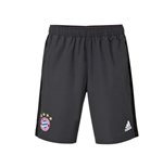 2016-2017 Bayern Munich Adidas Woven Shorts (Solid Grey)