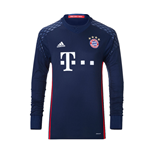 2016-2017 Bayern Munich Home Adidas Goalkeeper Shirt (Kids)