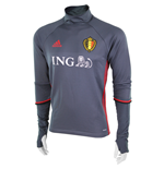 2016-2017 Belgium Adidas Training Top (Bold Onix)