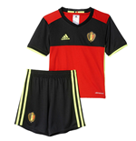 2016-2017 Belgium Home Adidas Mini Kit