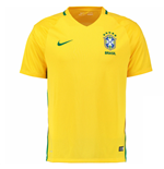 2016-2017 Brazil Home Nike Football Shirt