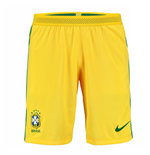 2016-2017 Brazil Nike Home Match Shorts (Yellow)