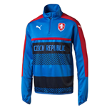 2016-2017 Czech Republic Puma Quarter Zip Training Top (Blue)