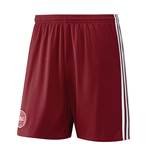 2016-2017 Denmark Home Adidas Football Shorts