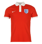 2016-2017 England Nike Core Polo Shirt (Red)
