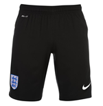 2016-2017 England Nike Home Goalkeeper Shorts (Black)