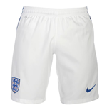 2016-2017 England Nike Home Shorts (White)
