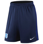 2016-2017 England Nike Strike Knit Shorts (Navy)