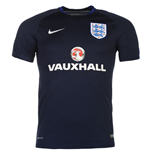 2016-2017 England Nike Training Shirt (Navy)