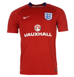 2016-2017 England Nike Training Shirt (Red)
