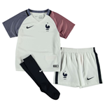 2016-2017 France Away Nike Mini Kit