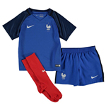 2016-2017 France Home Nike Mini Kit