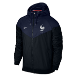 2016-2017 France Nike Authentic Windrunner Jacket (Navy)