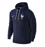 2016-2017 France Nike Core Hoody (Navy)