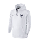 2016-2017 France Nike Core Hoody (White)