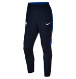 2016-2017 France Nike Revolution Elite Knit Strike Pants (Navy)