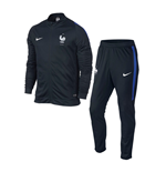 2016-2017 France Nike Revolution Knit Tracksuit (Navy)