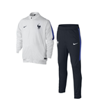 2016-2017 France Nike Revolution Knit Tracksuit (White) - Kids