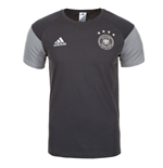 2016-2017 Germany Adidas Players Training Tee (Grey) - Kids