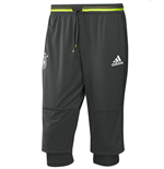 2016-2017 Germany Adidas Three Quarter Length Pants (Grey)