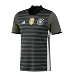 2016-2017 Germany Authentic Away Adidas Football Shirt