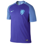 2016-2017 Holland Away Nike Authentic Vapor Match Shirt