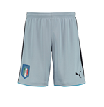 2016-2017 Italy Puma Home Goalkeeper Shorts (Blue Fog)