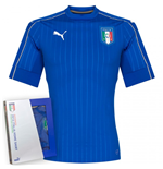 2016-2017 Italy Authentic Home Puma Football Shirt