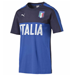 2016-2017 Italy Puma Fanwear Graphic Tee (Peacot)