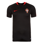 2016-2017 Portugal Nike Training Shirt (Black) - Kids