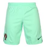 2016-2017 Portugal Nike Away Shorts (Green Glow) - Kids