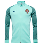 2016-2017 Portugal Nike Authentic N98 Track Jacket (Green Glow)