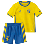 2016-2017 Sweden Home Adidas Mini Kit