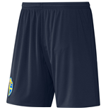 2016-2017 Sweden Away Adidas Football Shorts