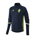 2016-2017 Sweden Adidas Training Top (Navy)