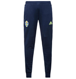 2016-2017 Sweden Adidas Sweat Pants (Navy)