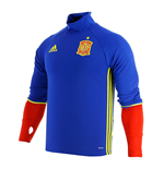 2016-2017 Spain Adidas Training Top (Blue)