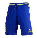 2016-2017 Spain Adidas Training Shorts (Blue)